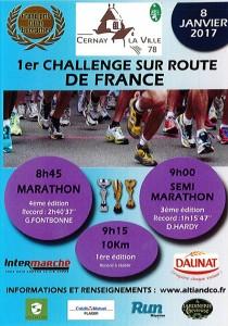 Résultat compétition : Semi-Marathon de Cernay