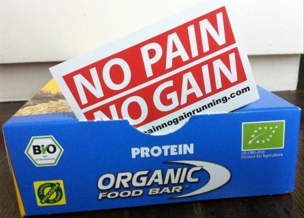 Les barres Bio Organique Food Bar
