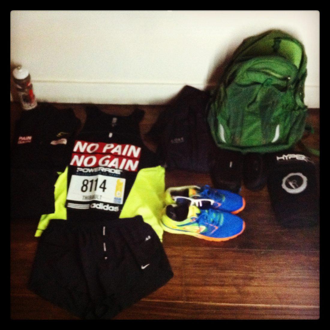 Préparation marathon, les 2 semaines précédentes