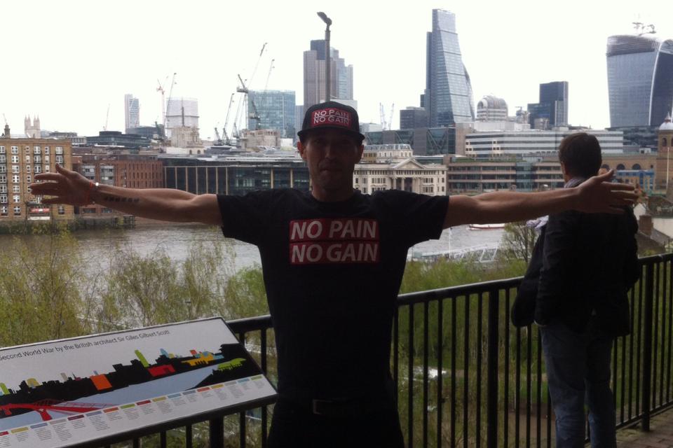 """Le marathon de Londres 2014 en 2h41'18"""", 221 e / 40 000"""